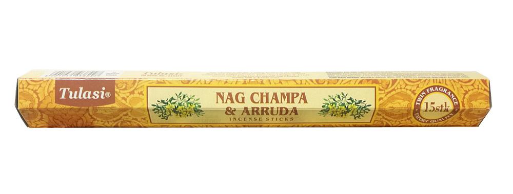 ワンランク上のマサラ香 お香 送料無料カード決済可能 Tulasiナグチャンパ インド香 アルーダ 出荷 スティック香