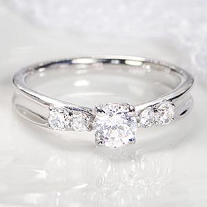 pt900 ダイヤモンド リング【SIクラスHカラーUP】【0.46ct】 ジュエリー アクセサリー 指輪 ダイヤモンド リング プラチナ エンゲージ 婚約 0.3ct 0.30カラット ダイヤ リング 人気 おしゃれ 送料無料 刻印無料 品質保証書 代引手数料無料 ギフト