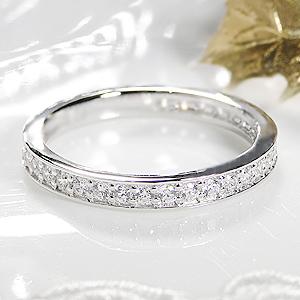 ジュエリー・アクセサリー・レディース・指輪・リング・プラチナ・ダイヤモンド・フルエタニティリング・0.5ct・フチあり・送料無料・刻印無料・品質保証書・代引手数料無料