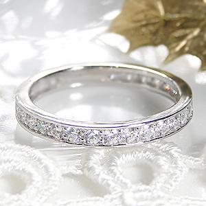 ジュエリー・アクセサリー・レディース・指輪・リング・プラチナ・ダイヤモンド・フルエタニティ・0.7ct・フチあり・ 送料無料・刻印無料・品質保証書・ギフト・プレゼント・代引手数料無料
