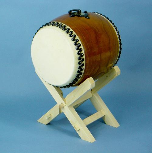 太鼓 6寸 ケヤキ製