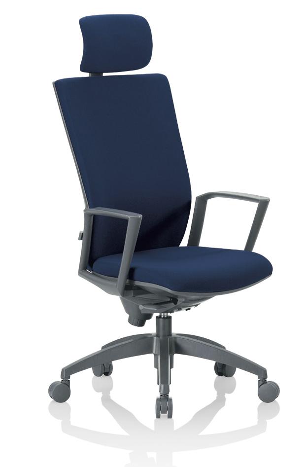 【AICO】OS-2275SJ ヘッドレスト付きハイバック肘付きタイプ オフィスチェア(法人様用運賃)