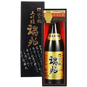 日本酒 ギフト プレゼント 純米大吟醸 瑞兆(ずいちょう)1.8L 送料無料