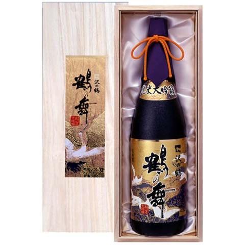 ギフト 日本酒 純米大吟醸 鶴の舞 1.8L 送料無料
