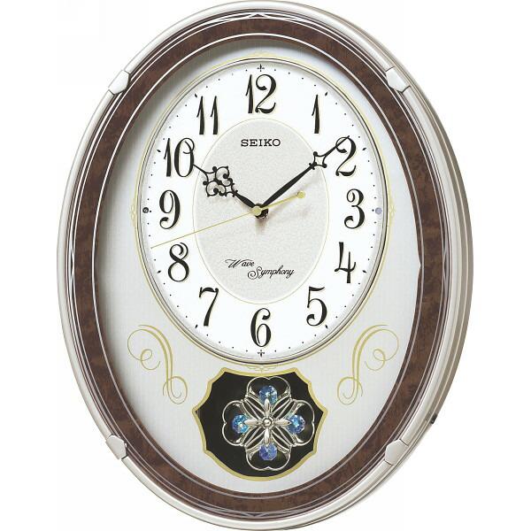 セイコー メロディ電波掛時計(18曲入) AM259B 【のし包装可】_