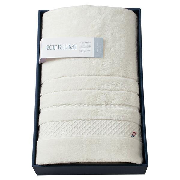 KURUMI 今治製パイル綿毛布 KUM-1555(WH) 【のし包装可】_