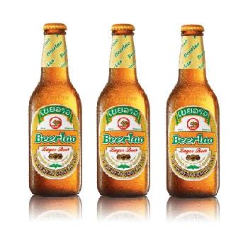 【ラオスビール】ビアラオ ラガー beerlao lager 330ml瓶 24本セット【ラオ ブルワリー社】【正規輸入品】【倉庫A】【年末年始休業の為1月7日~順次発送】