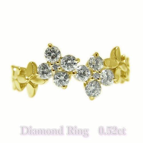 激安/新作 K18YGイエローゴールド リング ダイヤ ダイヤモンド 四葉 クローバー マリッジ 指輪 鏡面仕上げ, 健康 美容雑貨 メイダイ:591f259c --- inglin-transporte.ch