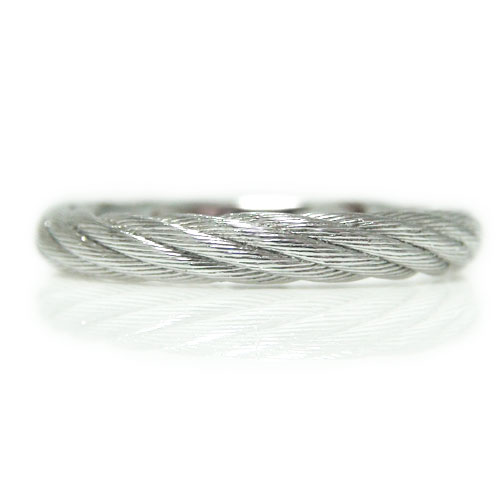 PT900プラチナ 地金 リング ツイスト ロープ マリッジ 結婚指輪 指輪 ペアリング ピンキー