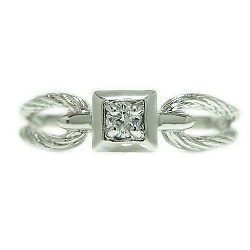 PT900プラチナ リング ダイヤモンド エンゲージ マリッジ 指輪 ブライダル 結婚指輪 ピンキー 誕生石