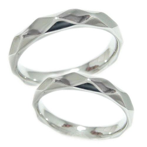 【送料無料】少し太めの3.6mm幅 ペアリング PT900プラチナ 地金 リング マリッジ 結婚指輪 指輪 2本セット