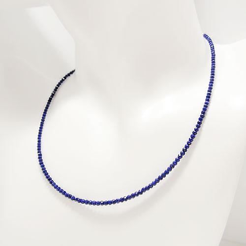 ブルー 青 カラーで医療従事者を応援しよう K18ホワイトゴールド イエローゴールド ギフト ピンクゴールドネックレス ラピス 最高級天然ラピスラズリ 天然石 形状記憶ワイヤー使用 祝日 誕生石 選べるゴールドカラー