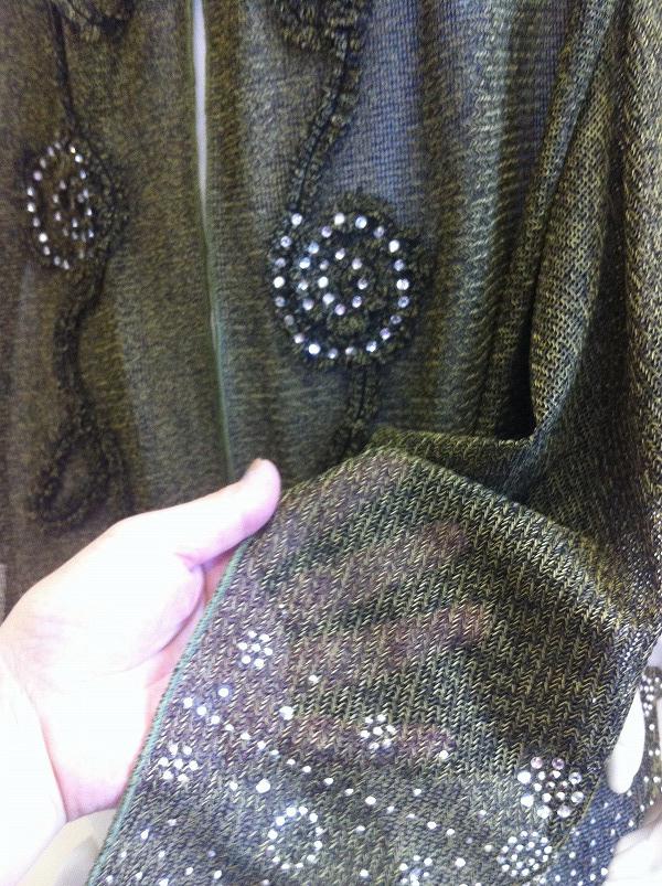 日本制造商舞厅舞蹈服饰细针织开衫卡拉 ok * 舞台服装! ph 值