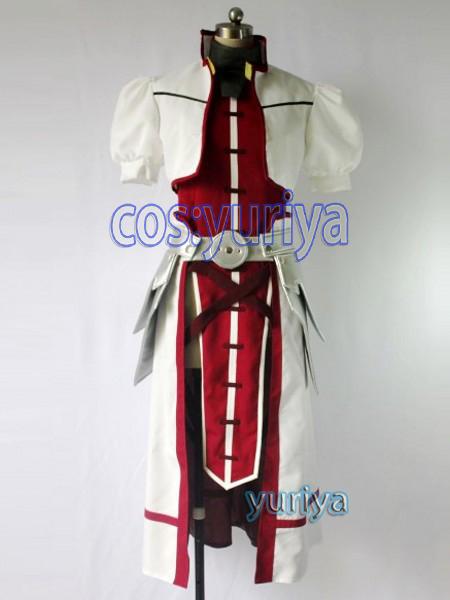 魔法少女リリカルなのは A's烈火の将 剣の騎士シグナム風★コスプレ衣装