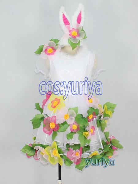 東京ディズニーランド(TDL)★ディズニー・イースター2014 うさぎダンサー★コスプレ衣装