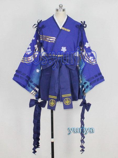 POS2 ファンタシースターオンライン2 ハフリマイヒメ影★コスプレ衣装