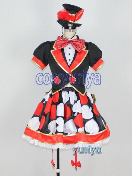 東京ディズニー トランプガール(テーマパークのダンサーの衣装で元ネタはアリスのハートの女王様)★コスプレ衣装