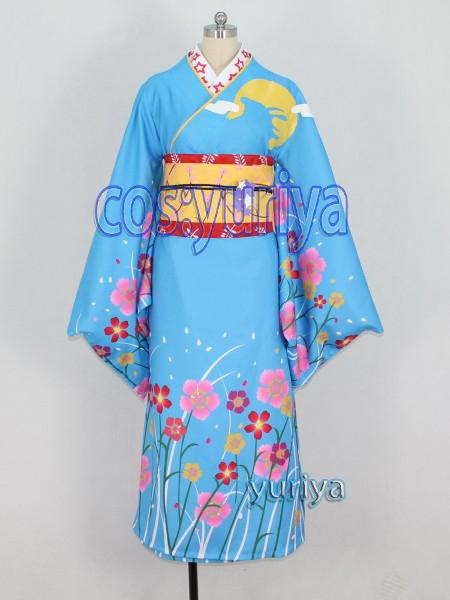 魔法少女まどか☆マギカ 鹿目和服★コスプレ衣装