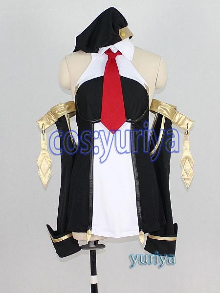 BLAZBLUE ブレイブルー マコト=ナナヤ ノエル女子制服★コスプレ衣装