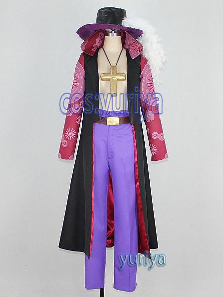 ONEPIECE (ワンピース) 鷹の目のジュラキュール・ミホーク★コスプレ衣装