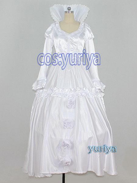 アルドノア・ゼロ アセイラム姫 ドレス パニエ付★コスプレ衣装