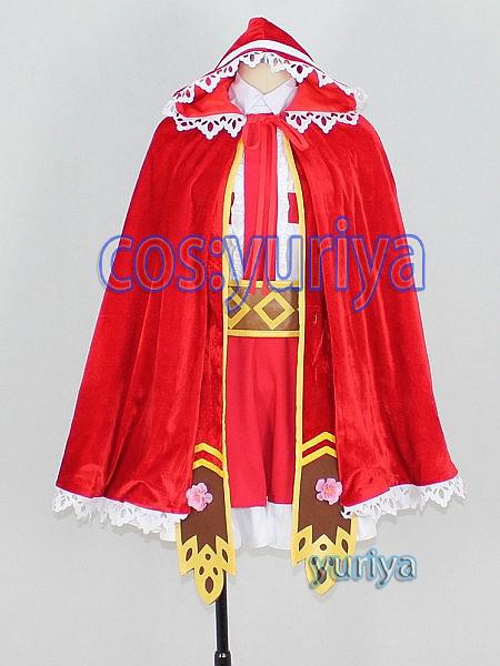 モンスターストライクの赤ずきんノンノ★コスプレ衣装