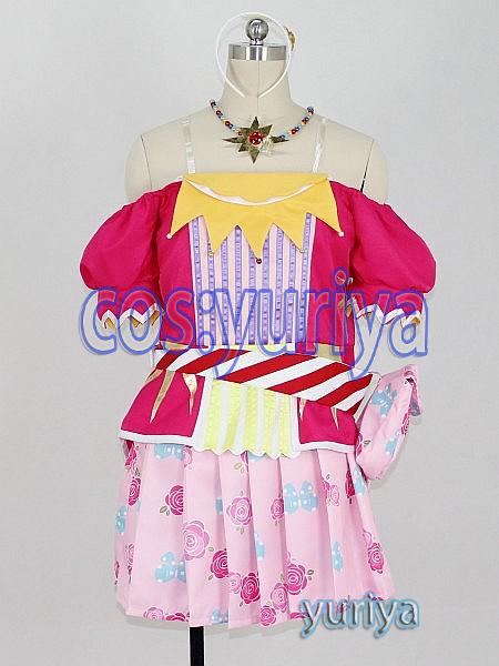 アイカツ!星宮いちご(ほしみやいちご)ユニットドレス★コスプレ衣装