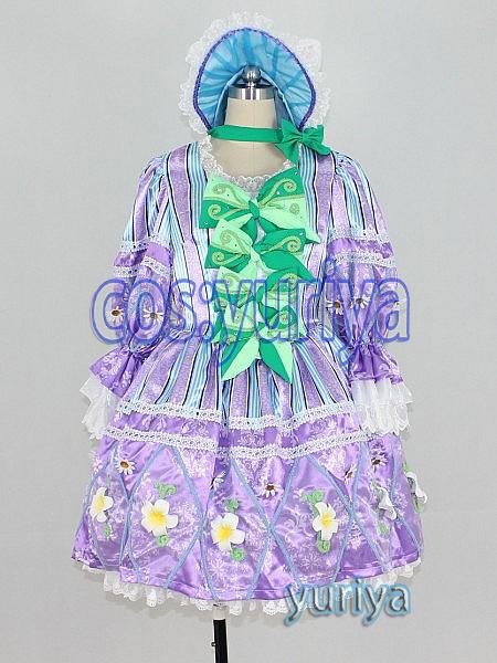 東京ディズニーのヒッピティ・ホッピティ・スプリングタイムのダンサー(紫色)★コスプレ衣装