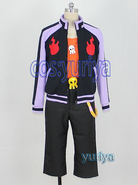 ベイブレードバースト 黒神ダイナ (くろがみだいな)★コスプレ衣装