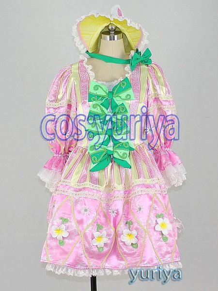 東京ディズニーのヒッピティ・ホッピティ・スプリングタイムのダンサー(ピンク)★コスプレ衣装