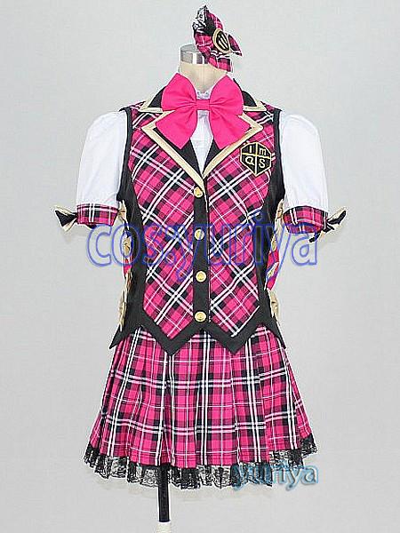 アイドルマスター2★天海春香 アイドル@スクール★コスプレ衣装