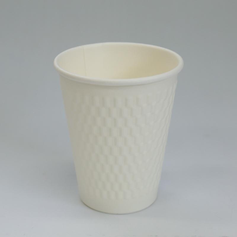 紙カップ KMW-240 ホワイト (1000個入)