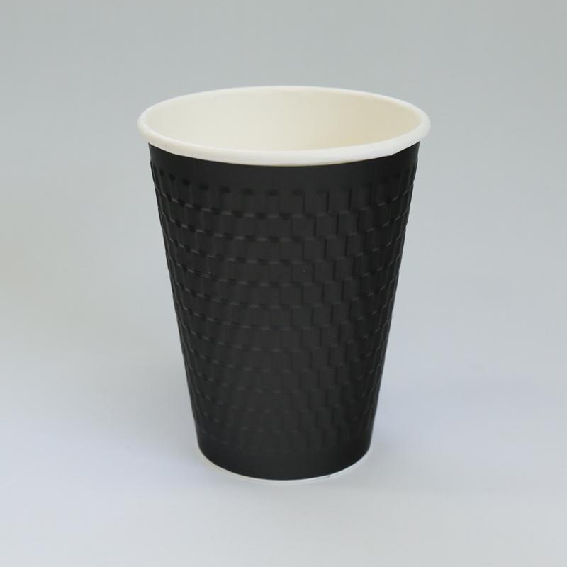 紙カップ KMW-360 ブラック (1000個入)