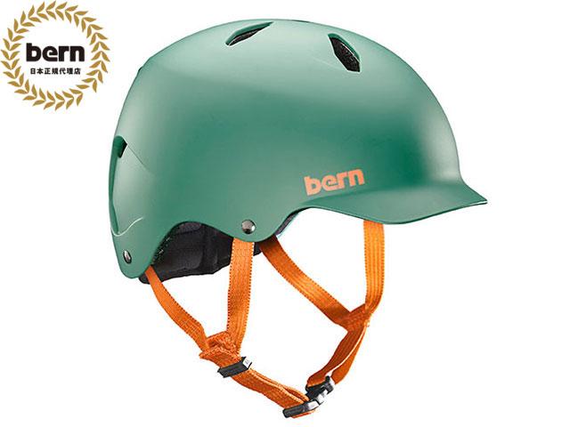 バーン bern BANDITO バンディート MATTE HUNTER GREEN マット ハンターグリーン 自転車 スケートボード BMX ピスト ヘルメット キッズ BB03EMHUN