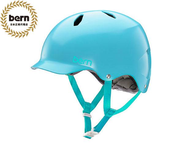 バーン bern BANDITA バンディータ Satin Light Blue サテン ライト ブルー BE-BG03ESLBL 自転車 スケートボード BMX ピスト ヘルメット キッズ