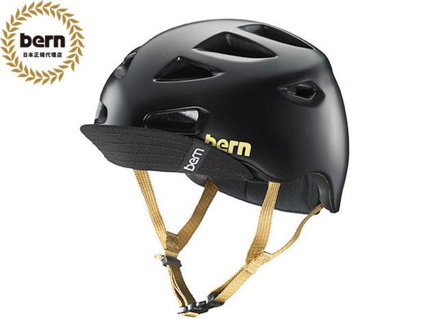 バーン bern - MELROSE BE-BW06Z18SBK SATIN BLACK メルローズ 自転車 スケートボード BMX ピスト ヘルメット レディース