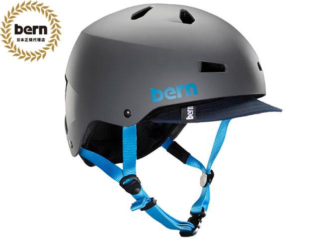 【国内正規品】 バーン bern メイコン MACON VISOR ALL SEASON MATTE GREY メイコン バイザー マット グレー 自転車 スケートボード BMX ピスト ヘルメット