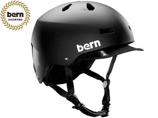 バーン bern メイコン MACON VISOR ALL SEASON MATTE BLACK メイコン バイザー マット ブラック 自転車 スケートボード BMX ピスト ヘルメット