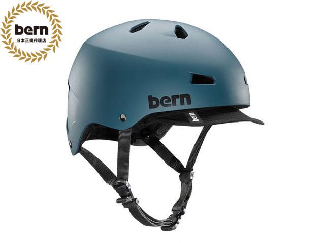 【国内正規品】 バーン bern メイコン MACON VISOR ALL SEASON BE-VM2HMMTV MATTE MUTED TEA メイコン バイザー マット ミューテッド ティール 紺 自転車 スケートボード BMX ピスト ヘルメット