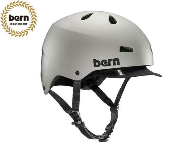 【国内正規品】 バーン bern メイコン MACON VISOR ALL SEASON BE-VM2HMSDV MATTE SAND メイコン バイザー マット サンド 灰 自転車 スケートボード BMX ピスト ヘルメット