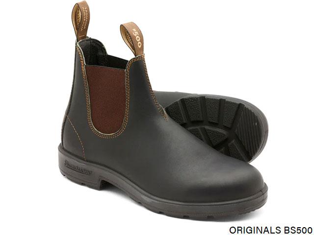 【国内正規品】 ブランドストーン Blundstone BS500 CLASSICS クラシック Stout Brown スタウトブラウン 茶 ブーツ BOOTS