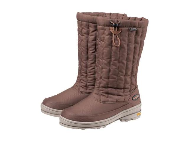 キャラバン Caravan <レディース>スノーキャラバン SHC 25W ブラウン SNOW CARAVAN 防寒ブーツ ウィンターブーツ WINTER BOOTS