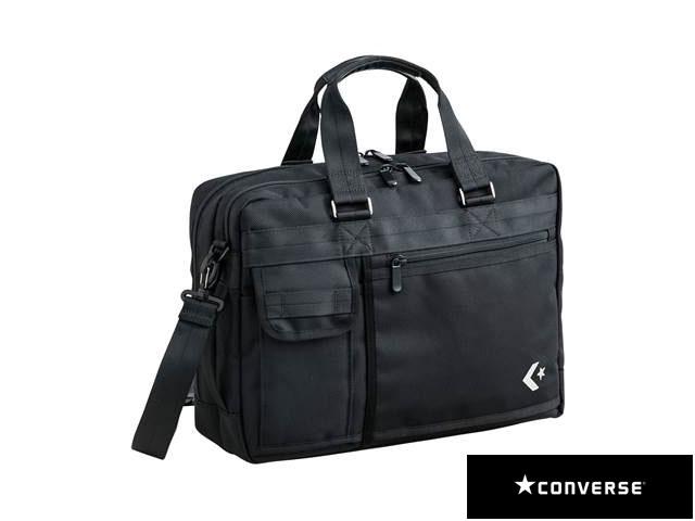 【国内正規品】 CONVERSE コンバース C181411 8S スタッフバッグ ボストン バッグ マルチスポーツ ブラック 黒