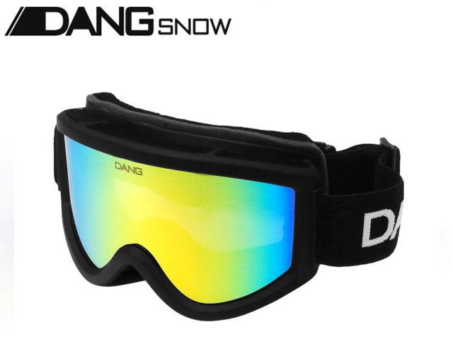 【国内正規品】 DANG SNOW スノーゴーグル SNOW GOGGLES Black Matte x Green Mirror ダンシェイディーズ サングラス トイサングラス スノーボード スキー バイク