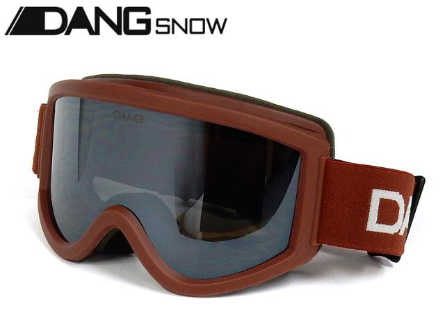 【国内正規品】 DANG SNOW スノーゴーグル SNOW GOGGLES Rust Matte x Chrome Mirror ダンシェイディーズ サングラス トイサングラス スノーボード スキー バイク