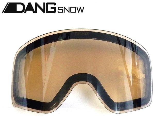 【国内正規品】 DANG SNOW スノーゴーグル TWENTY20用 Clear Smoke Silver Mirror Replacement Lens (low light lens) トゥエンティ・トゥエンティ ダンシェイディーズ サングラス トイサングラス スノーボード スキー バイク UVカット DANG SNOW TWENTY20用 スペアレンズ