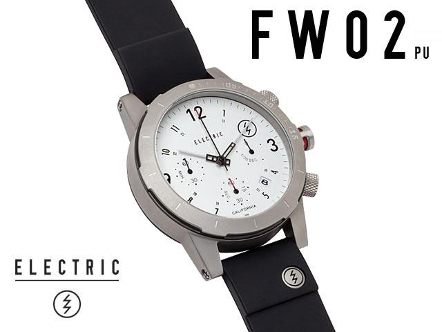 【国内正規品】 ELECTRIC WATCH COLLECTION FW02 PU WHITE エレクトリック 腕時計