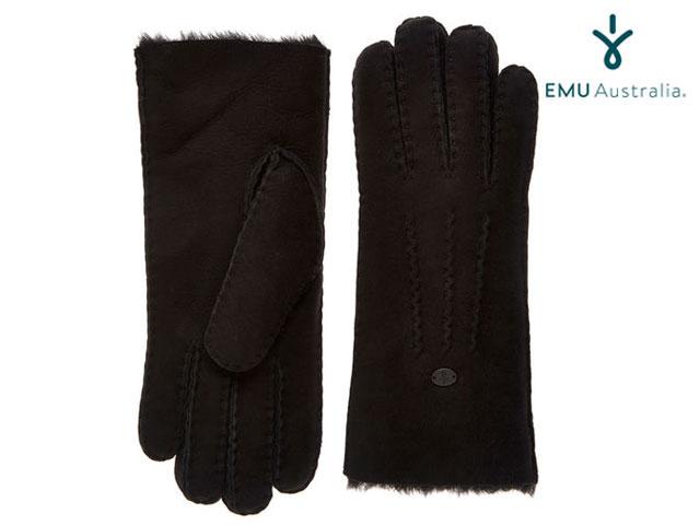 【国内正規品】 emu australia ビーチ フォレスト グローブ ブラック BEECH FOREST GLOVES BLACK エミューオーストラリア