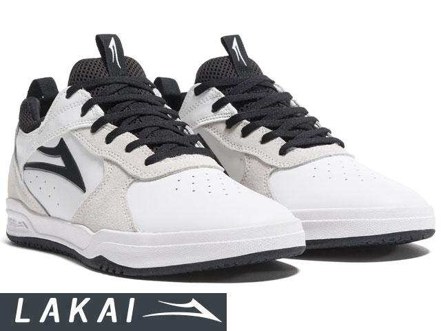 【国内正規品】 Lakai 【2019SPRINGモデル】 PROTO WHITE/BLACK SUEDE プロト ホワイト/ブラック スエード トニーホーク ラカイ スケート SKATE スニーカー