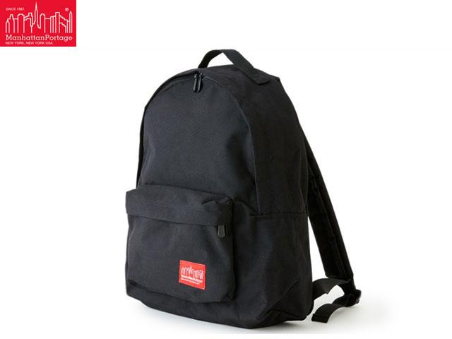 【国内正規品】 Manhattan Portage Big Apple Backpack JR ビッグ アップル バックパック バッグ MP1210JR BLACK 黒 マンハッタン ポーテージ マンハッタンポーテージ